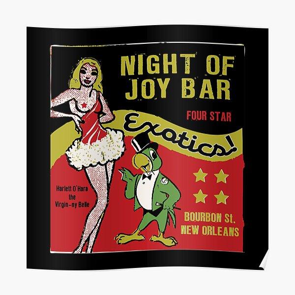 Night Of Joy Bar Poster