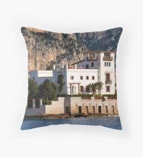 Greek romance Throw Pillow