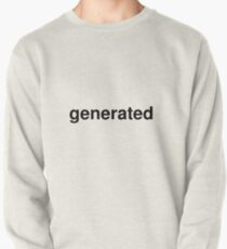 generated Pullover
