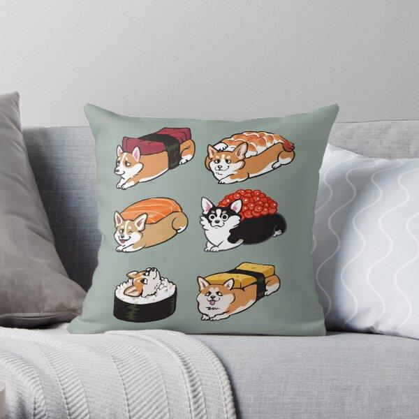 Sushi Corgi Coussin