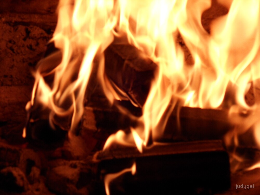 Open Fireplace by judygal
