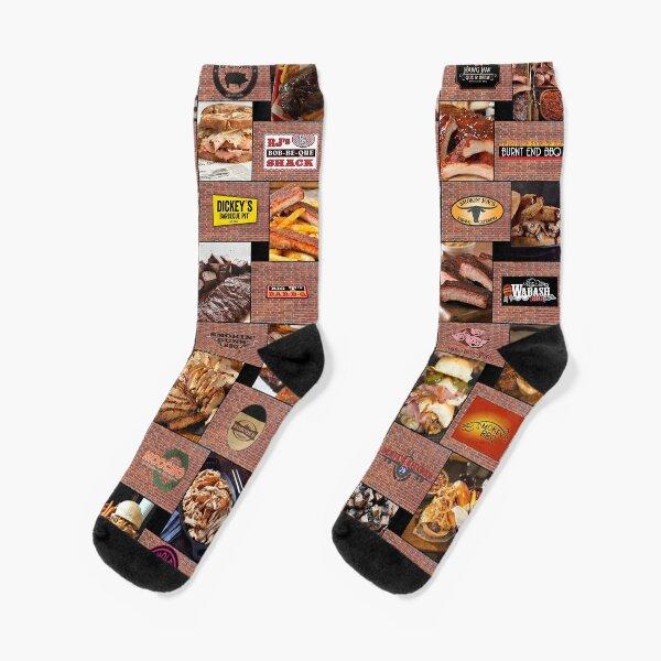 Kansas City Barbecue Socks