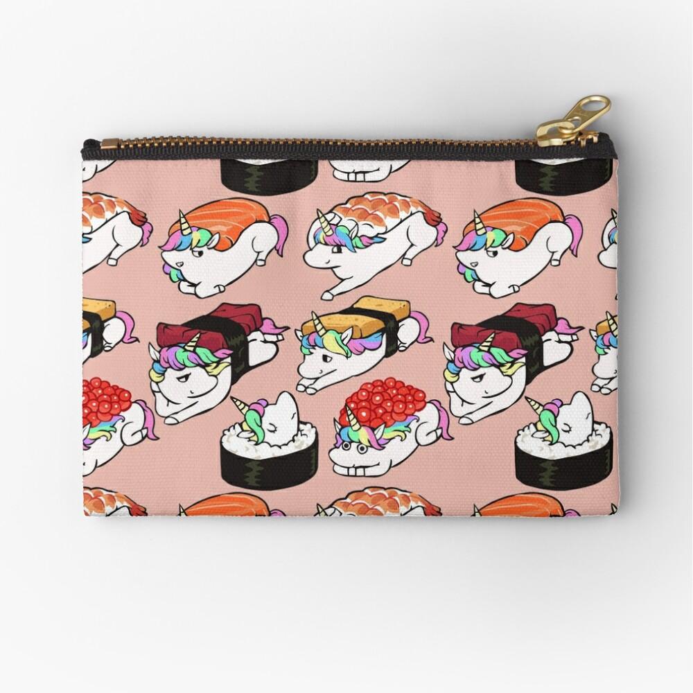 Sushi Unicorn Zipper Pouch