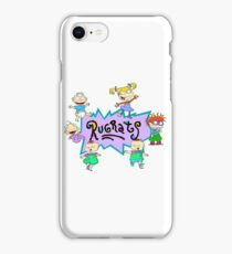 Rugrats Characters + logo iPhone Case/Skin