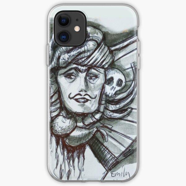 Skull Harp iPhone Soft Case