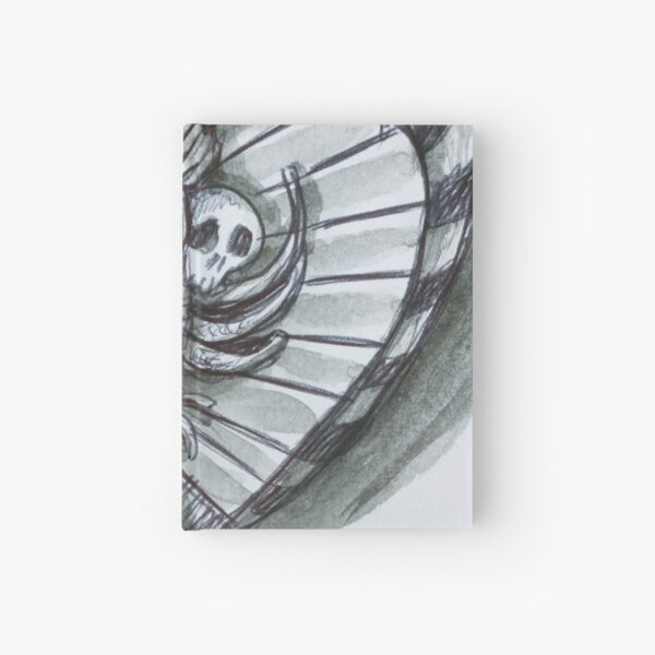 Skull Harp Hardcover Journal