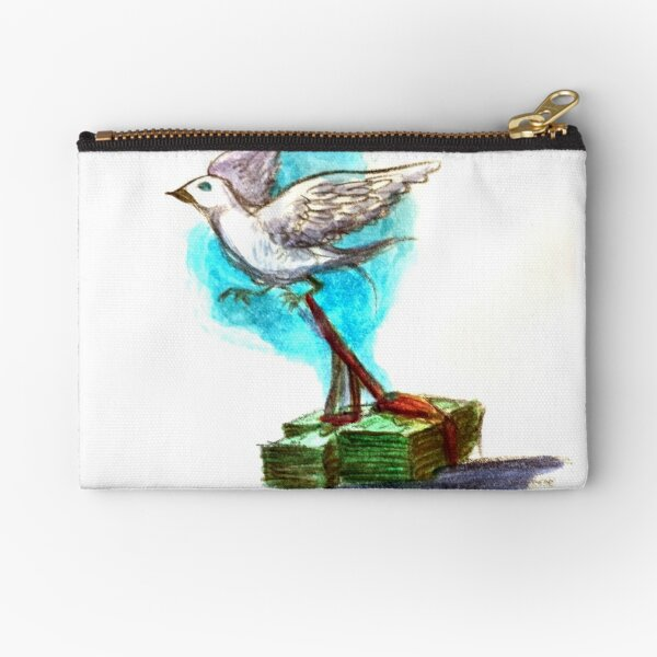 Freedom is Not Free Zipper Pouch
