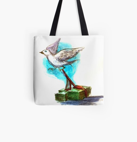Freedom is Not Free All Over Print Tote Bag