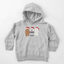 We Bare Bears Xmas Toddler Pullover Hoodie