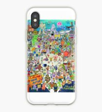 Spongebob Cast iPhone Case