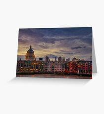 London cityscape Greeting Card