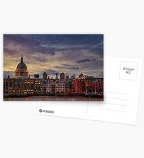 London cityscape Postcards