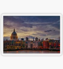 London cityscape Transparent Sticker