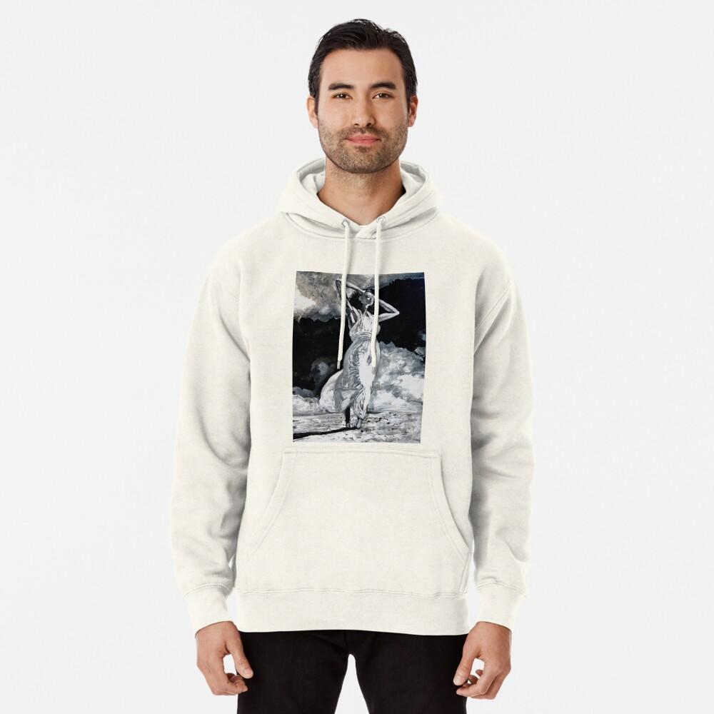 The White Deer Pullover Hoodie