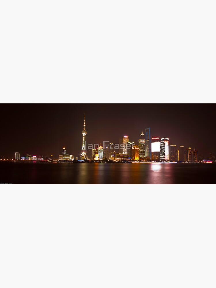 Shanghai City Lights by Mowog