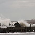 Stormy Day in Yarmouth by Debbie  Roberts