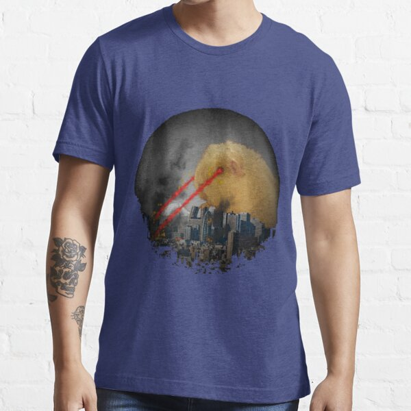 Guinea Pig Attacking Tokyo with Laser Eyes REDUX Essential T-Shirt