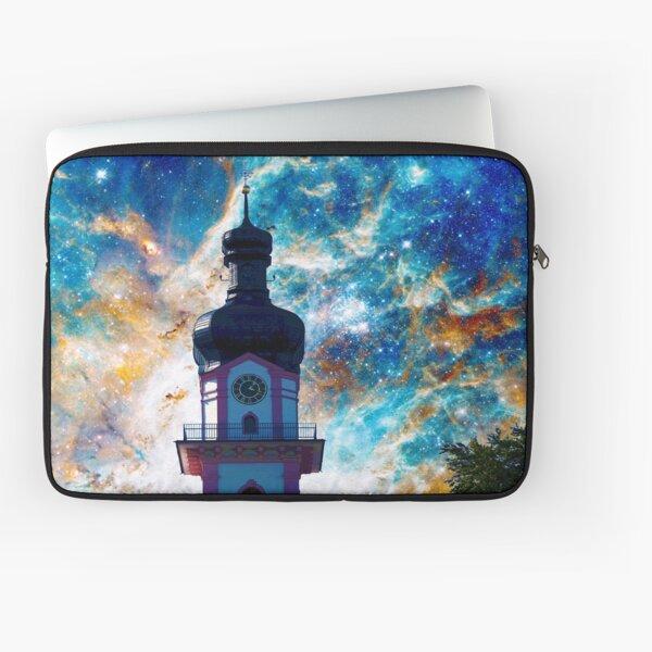 Starscape - Nebula and Tower Laptop Sleeve