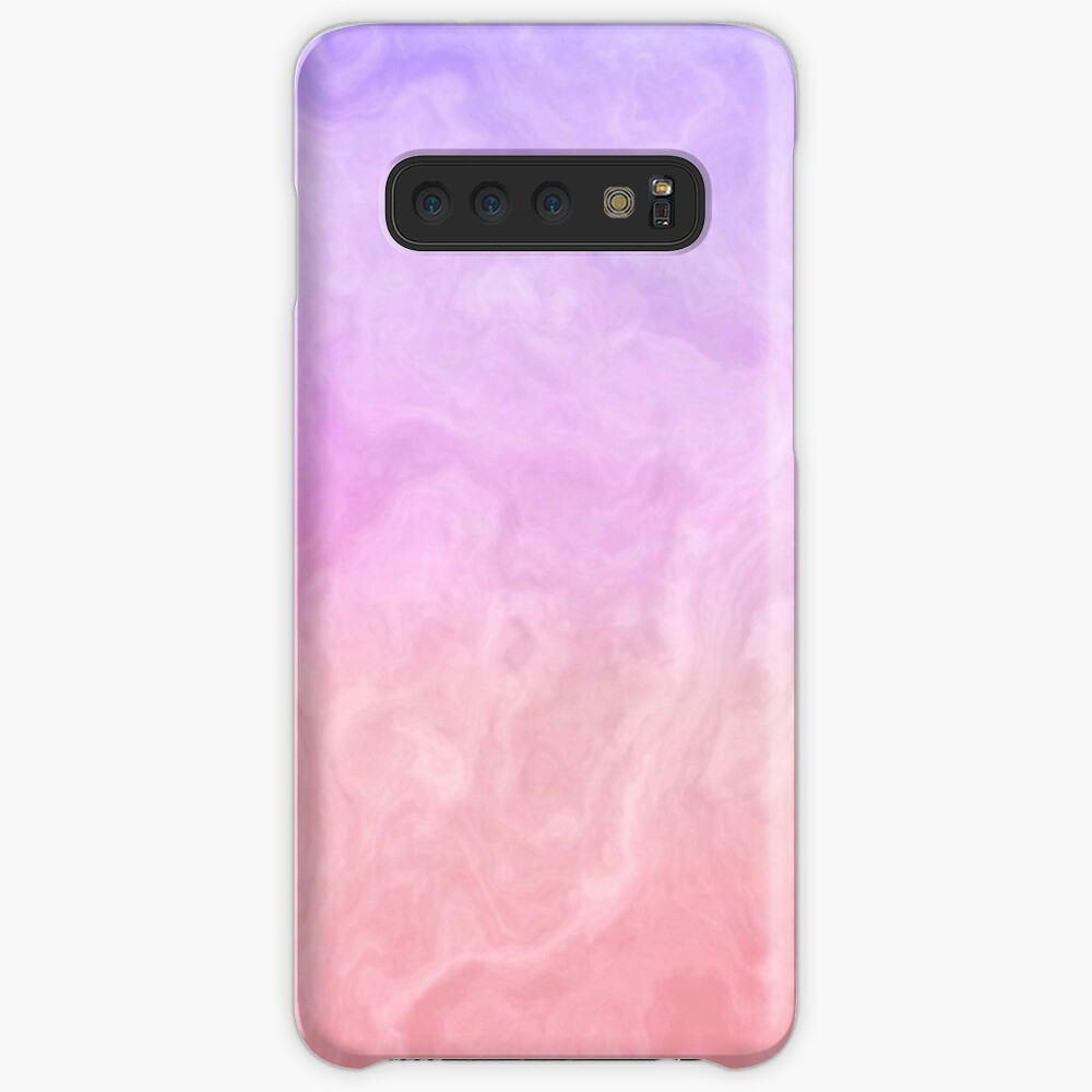Pink and Purple Marble Samsung Galaxy Snap Case