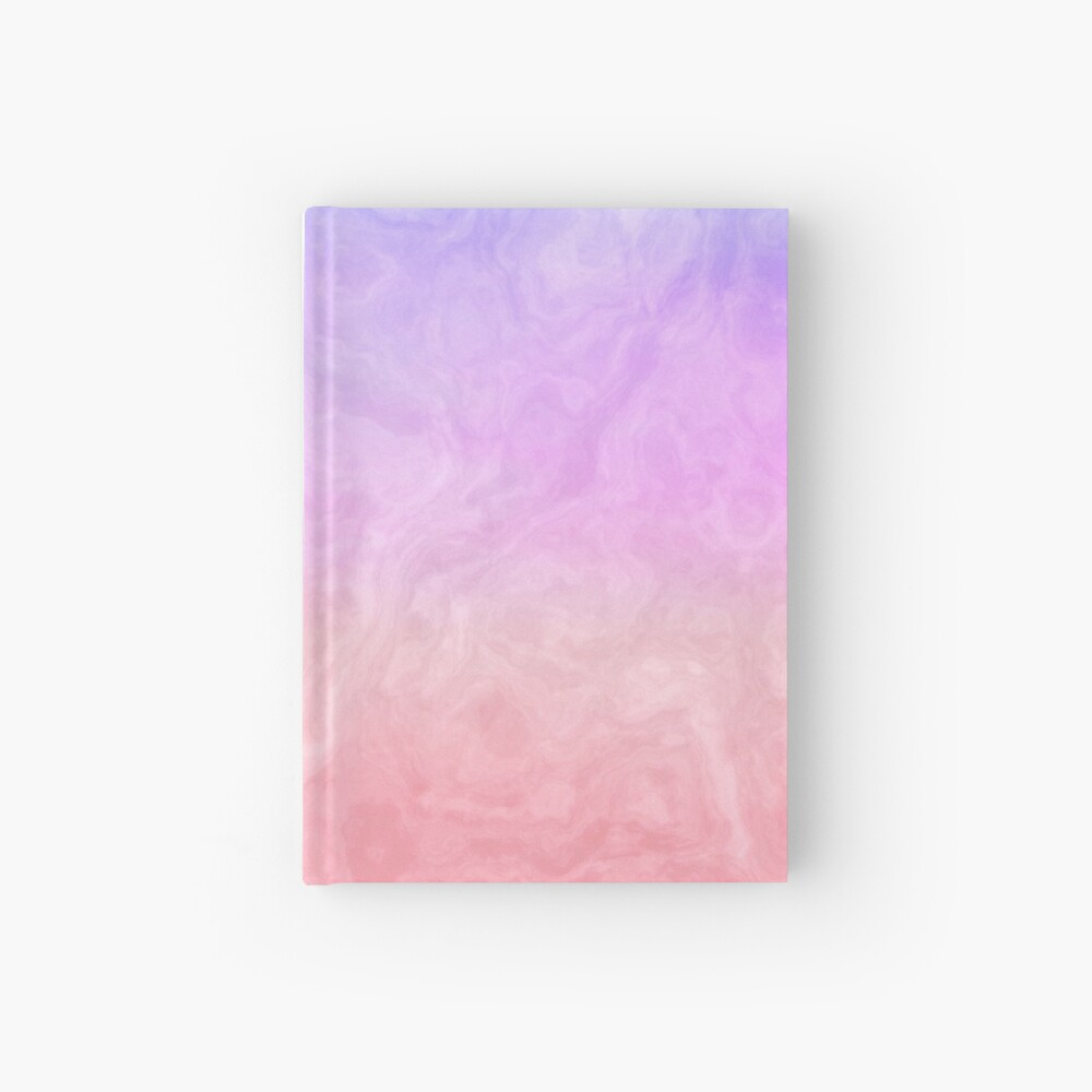 Pink and Purple Marble Hardcover Journal
