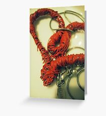 Wirey Love Muscle Greeting Card