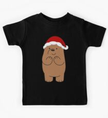 Grizzly Xmas Kids T-Shirt