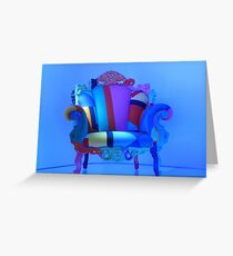 Proust armchair Greeting Card