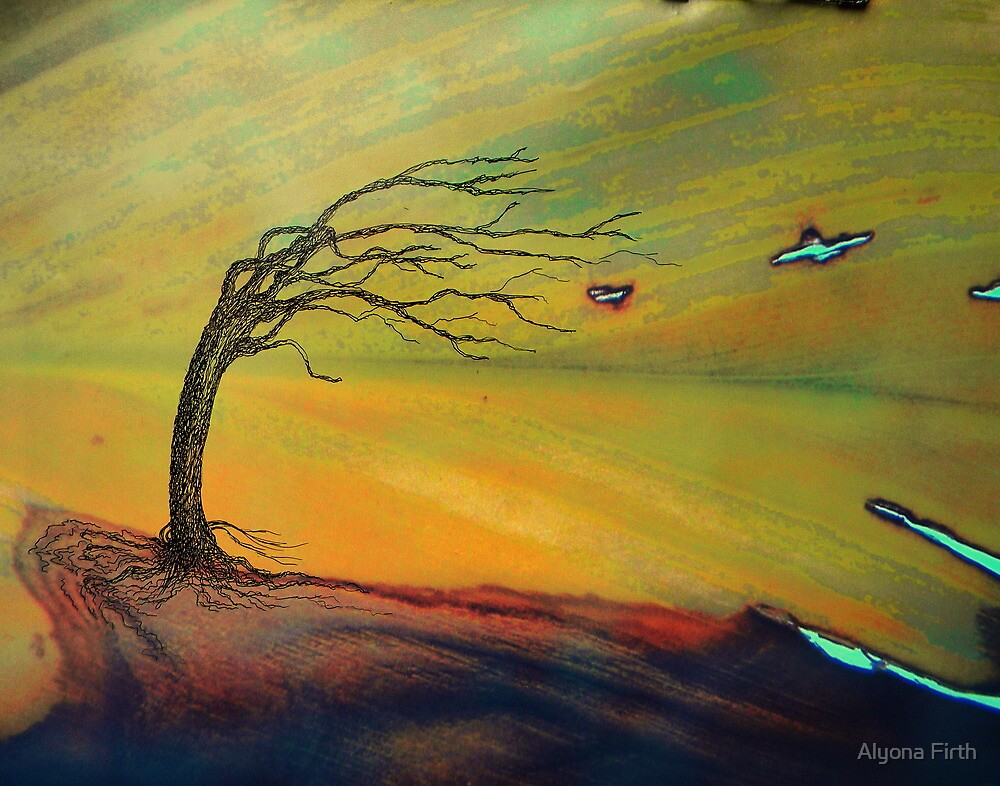 the storm - landscape - natural world gallery by Alyona Firth