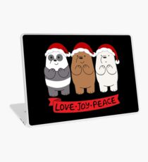 We Bare Bears Love Laptop Skin