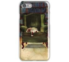 Monkey's Library iPhone Case/Skin