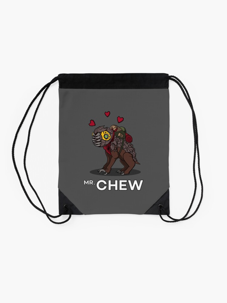 Alternate view of Mr, Chew Drawstring Bag