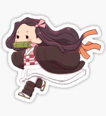 Nezuko Runing Sticker