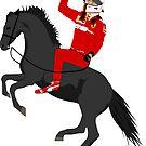 Sebastian Vettel - Prancing Seb by TheWorksTeam