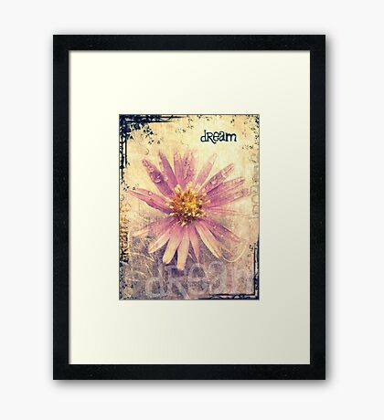 Dreaming Is Free Framed Print