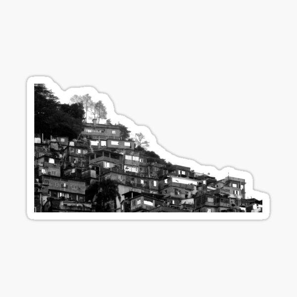 FAVELA GREY, Rio de Janeiro Sticker