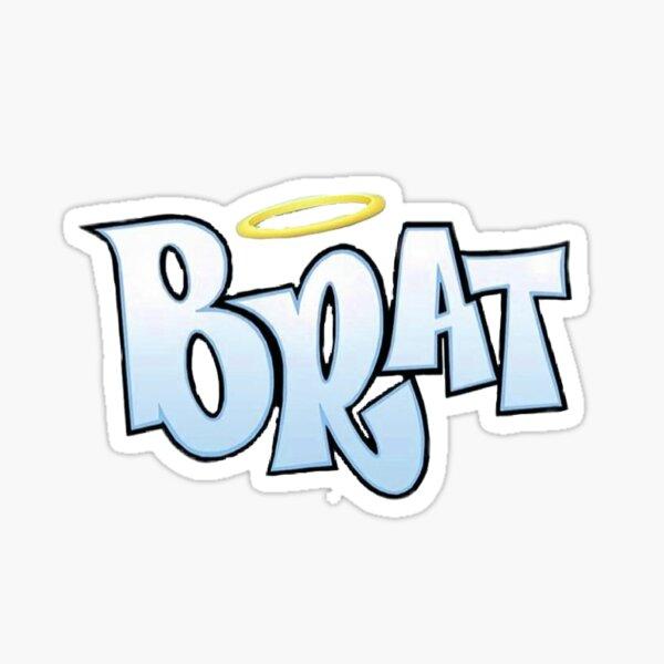 Blue Brat Logo Sticker