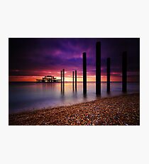 West Pier Brighton Photographic Print