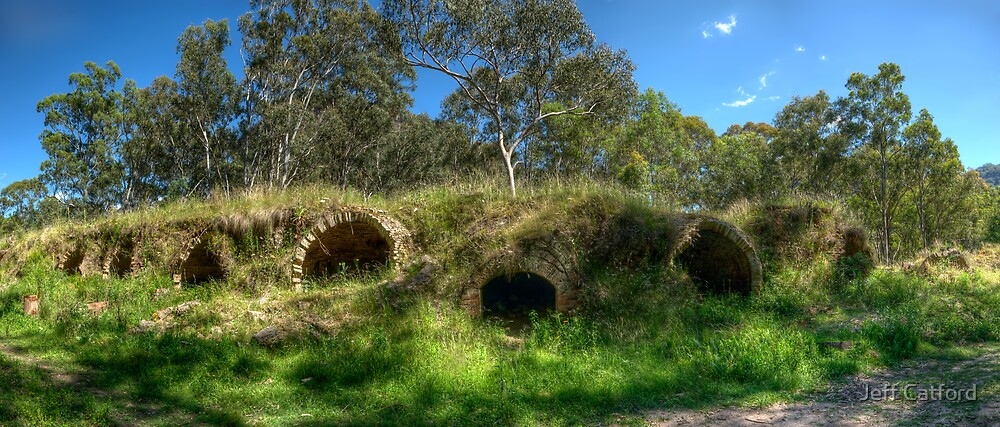 Coke Ovens - Newnes by Jeff Catford