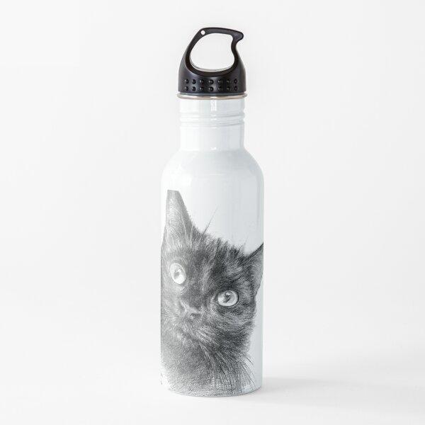 Danny Black Cat Water Bottle