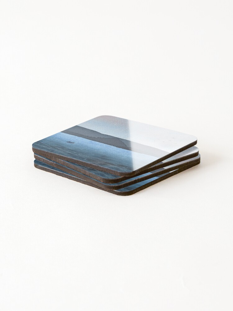 Alternate view of Berwick Law and Craig Leith, November 2018 Coasters (Set of 4)
