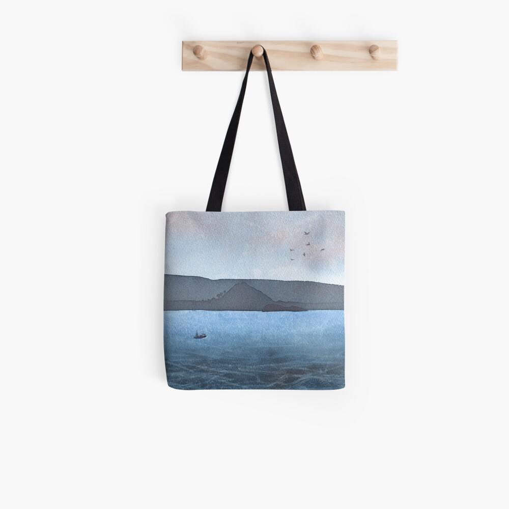 Berwick Law and Craig Leith, November 2018 Tote Bag