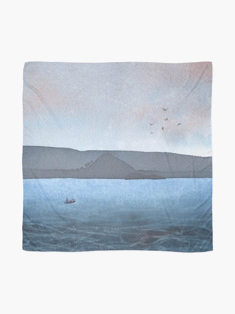 Alternate view of Berwick Law and Craig Leith, November 2018 Scarf