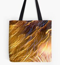 Fireworks - Sydney Harbour, New Years Eve 2010 Tote Bag