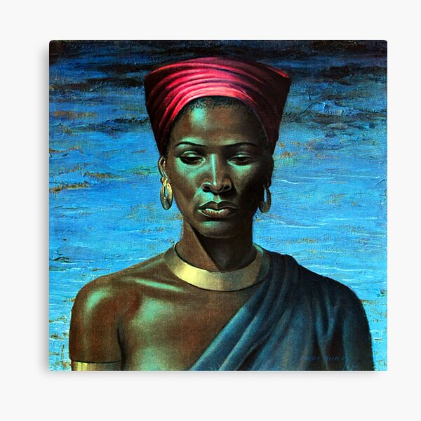 Zulu Girl - Vladimir Tretchikoff Canvas Print
