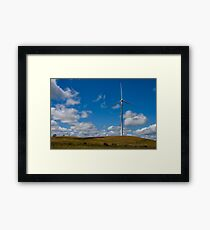 Windy Hill Framed Print