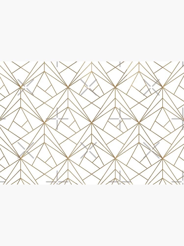 Gold Geometric Pattern  by koovox