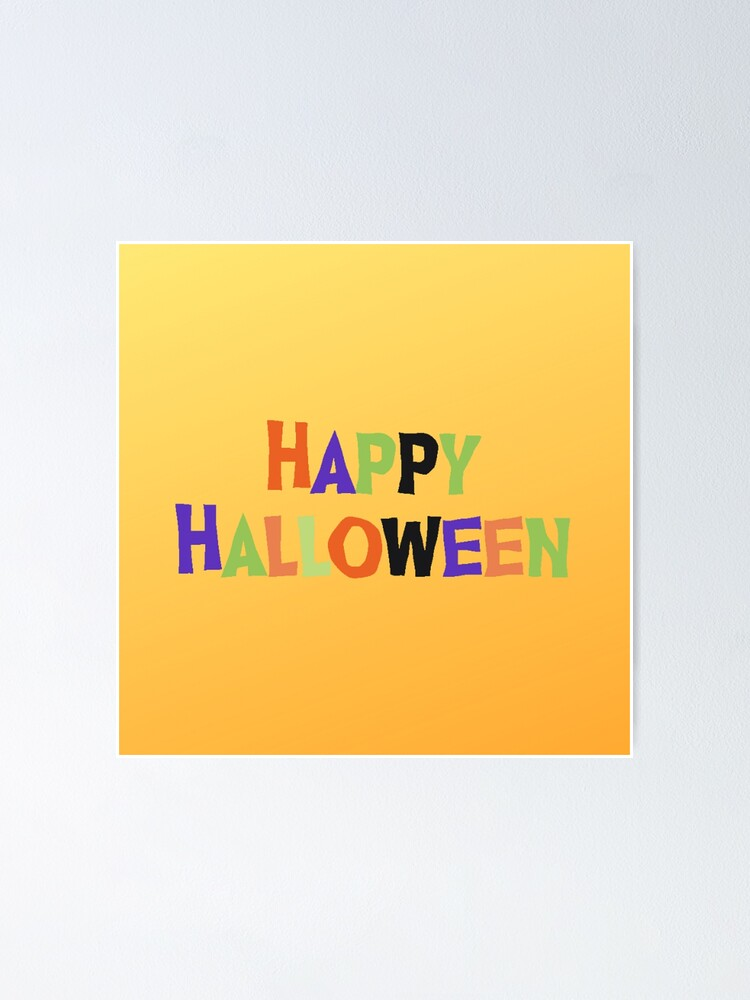 Alternate view of Happy Halloween Poster