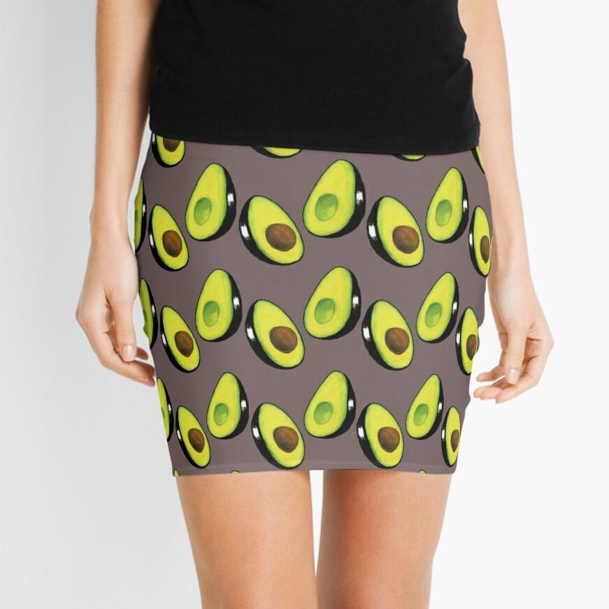 **Avocado** Mini Skirt
