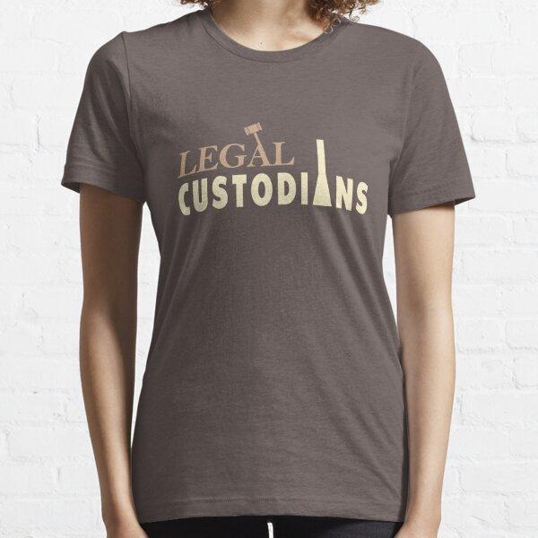 Scrubs Legal Custodians Lawyer Janitor Essential T-Shirt