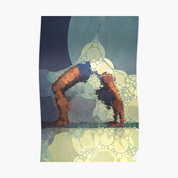 Yoga art 15 Poster
